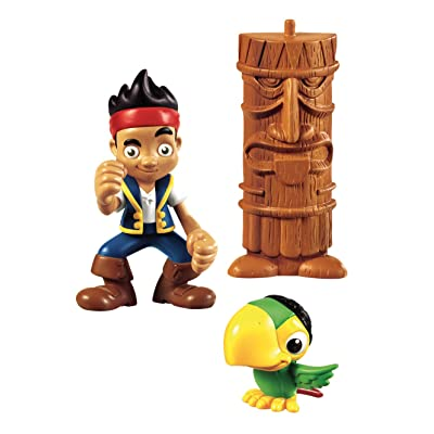 Jake y los Piratas - Figura de acción, Jake y Skully (Mattel Y2259): Juguetes y juegos