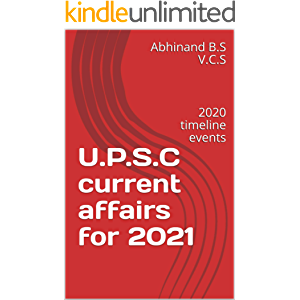U.P.S.C current affairs for 2021: 2020 timeline events