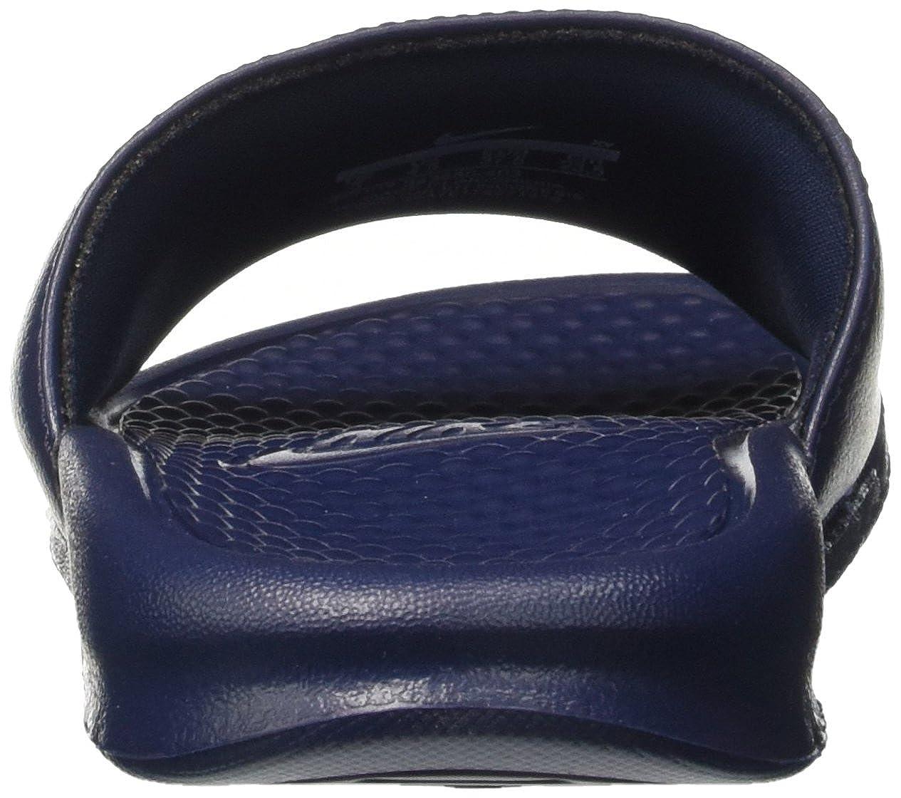 reputable site c83cb 3f324 Men s Shoes Sandals Nike Benassi JDI Just Do It Print Slides Total Orange  White Black 631261-800