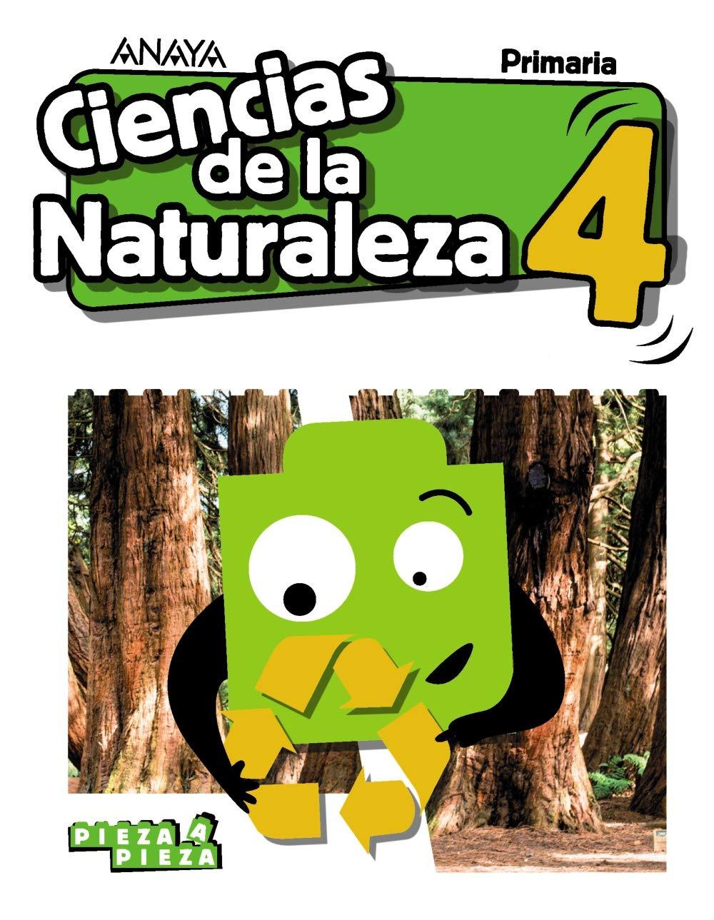 Ciencias De La Naturaleza 4 Pieza A Pieza Gómez Gil Ricardo Valbuena Pradillo Rafael Amazon Es Libros