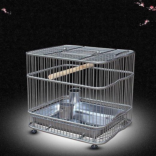 Liuyu · Casa de la Vida Jaula de baño Loro de Acero Inoxidable ...