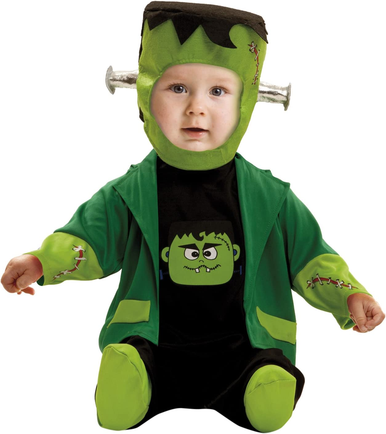 My Other Me Me-203268 Disfraz de bebé Franky para niño, 1-2 años (Viving Costumes 203268)