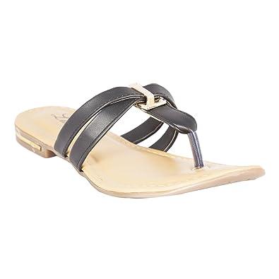 a713487e78a109 Lush Black Women s Fashion Sandals for Women