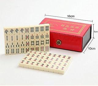 Bella Mini Mahjong Majiang set Giochi da Tavolo per Viaggio Portatile Manjong in Box Gioco Cinese
