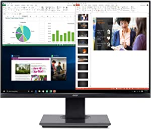 "Acer BW257 bmiprx 25"" Full HD (1920 x 1200) IPS Monitor (Display, HDMI & VGA Ports), Black"