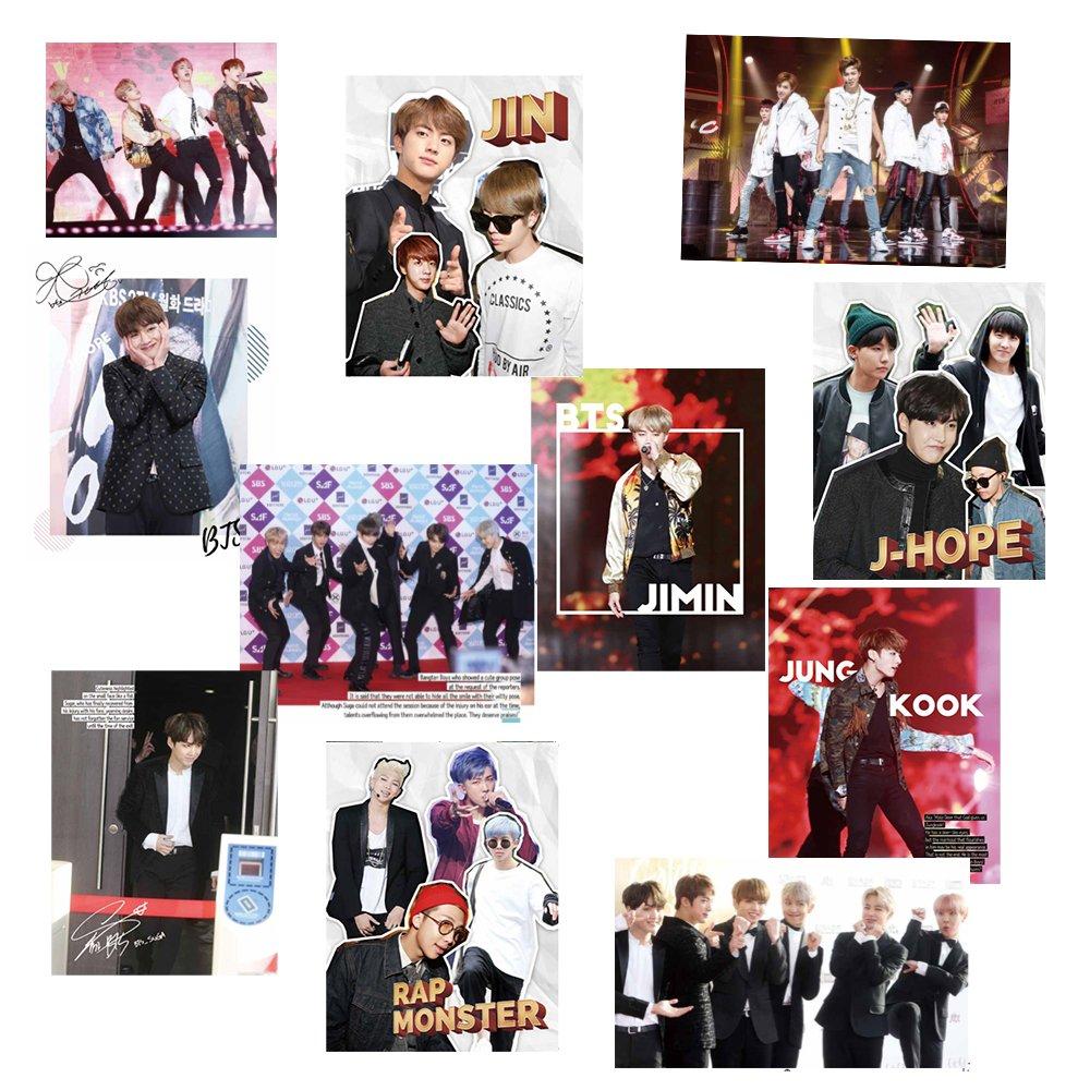 BTS Bangtan Boys Special KPOP Photo Magazine Monsta-X w/ Soribada