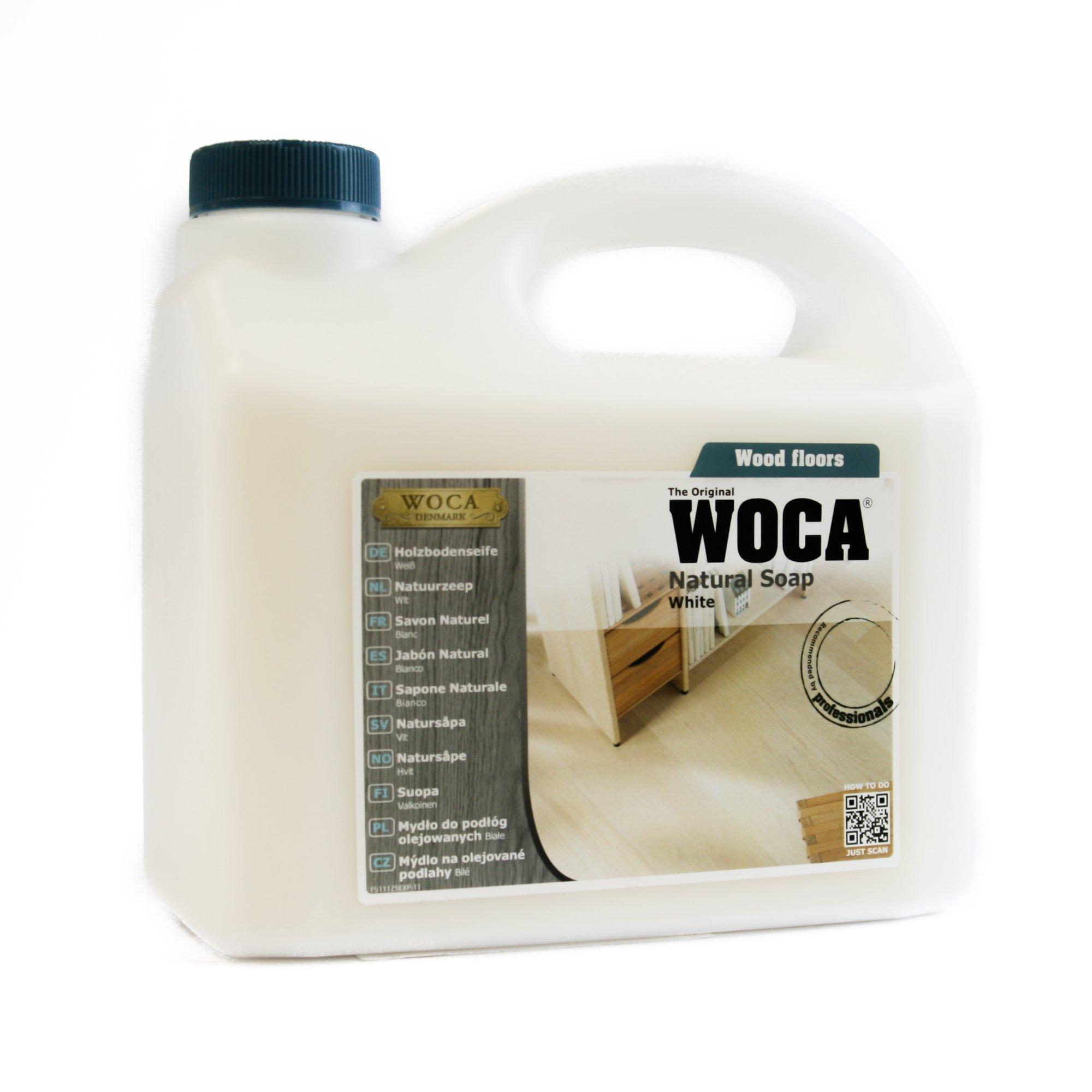 Woca Dennmark Natural Soap White 2.5 liters by Woca Denmark