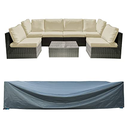 Exceptionnel Patio Furniture Set Cover Outdoor Sectional Sofa Set Covers Outdoor Table  And Chair Set Covers Water