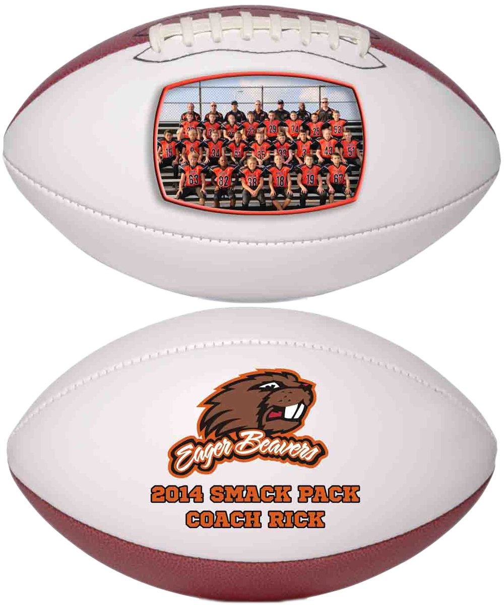 Personalized Custom Photo Regulation Football - Any Image - Any Text - Any Logo by Personalized Sports Balls (Image #6)
