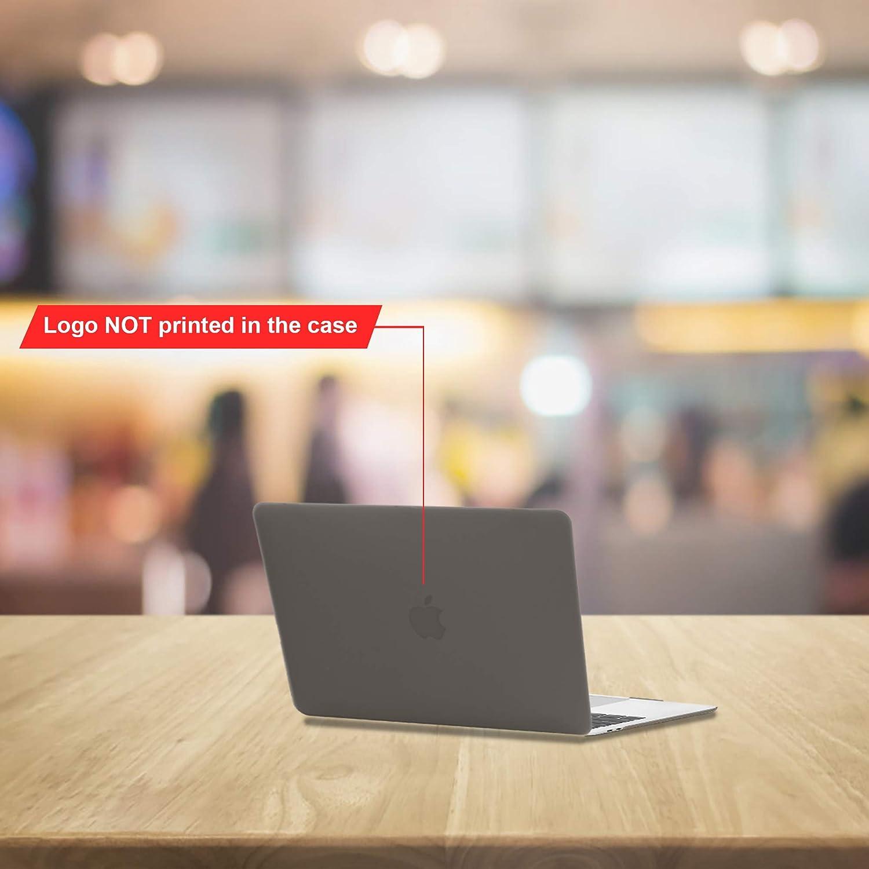 Delgado Cubierta Pl/ástico Dura Case Carcasa para MacBook Pro 13 Pulgadas con//sin Touch Bar - Cristal Verde Modelo: A1706 // A1708 // A1989// A2159 TECOOL Funda para MacBook Pro 13 2019 2018 2017 2016