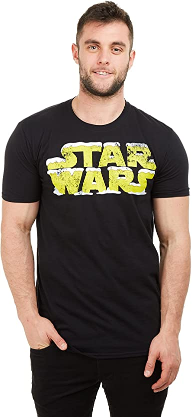 Star Wars Snow Logo Camiseta para Hombre