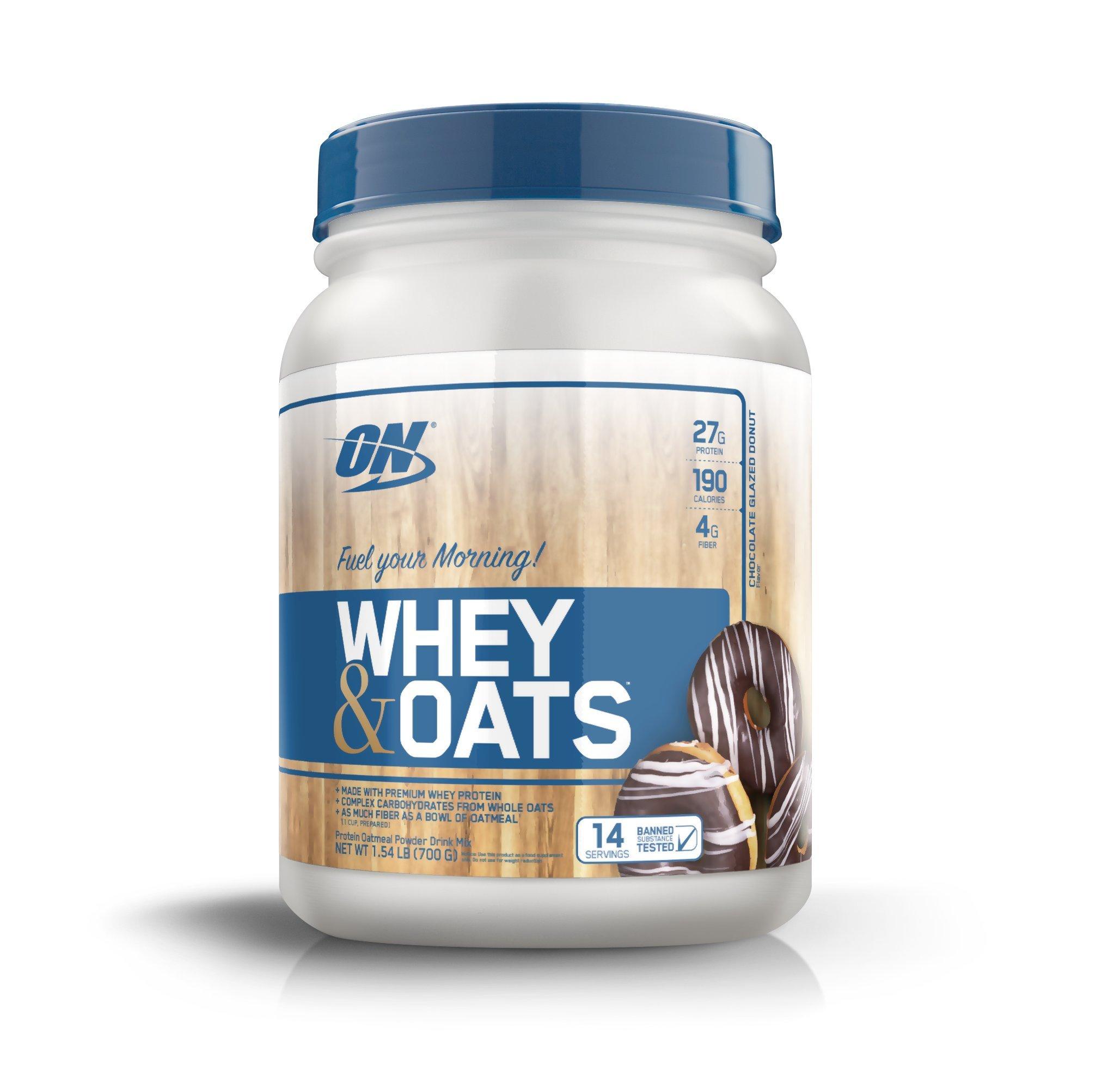 Protein Shaker Optimum Nutrition: OPTIMUM NUTRITION Whey & Oats Protein Powder, Breakfast Or