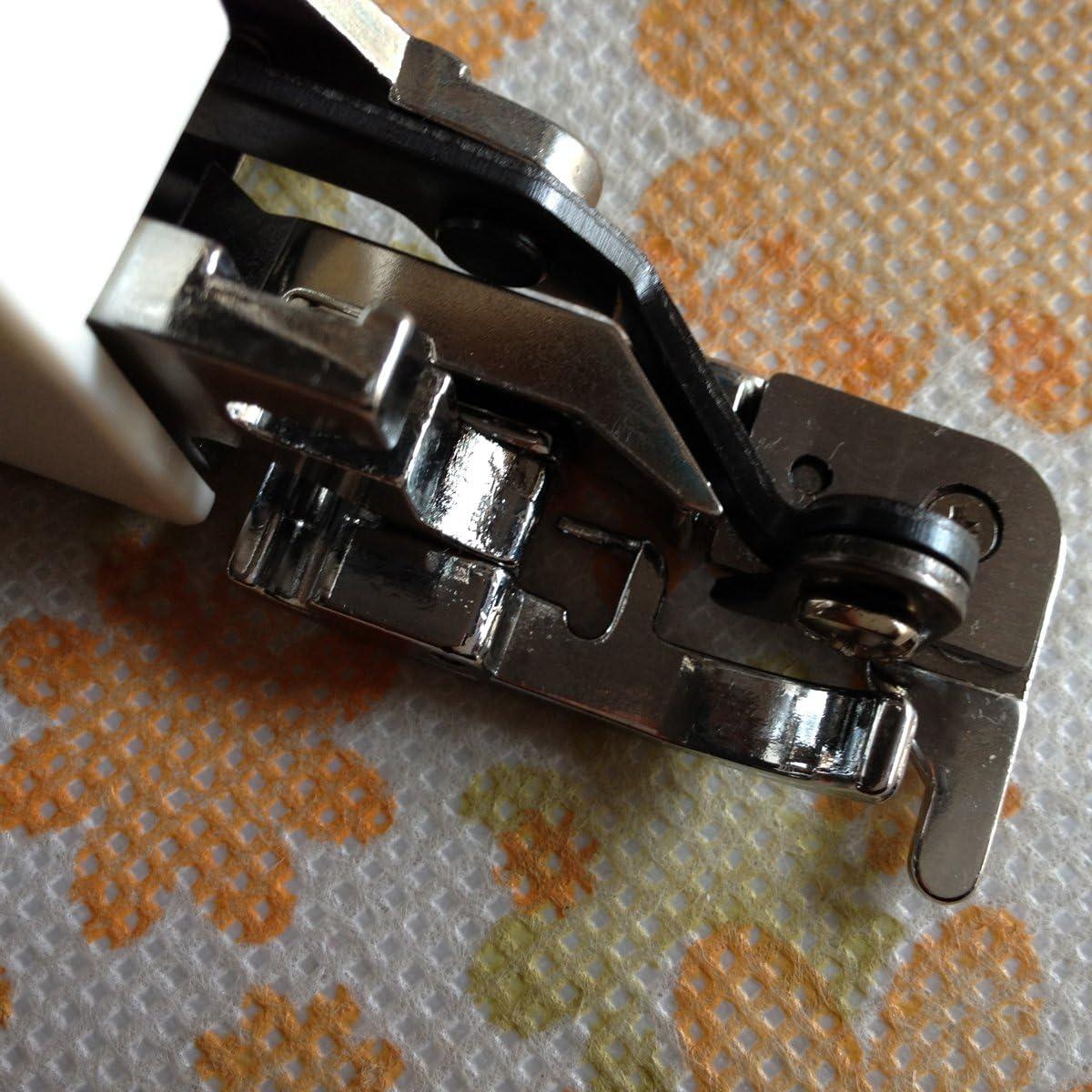 Babylock para m/áquinas Singer Brother Prensatelas multifuncional con cortador lateral para m/áquina de coser Janome y Kenmore
