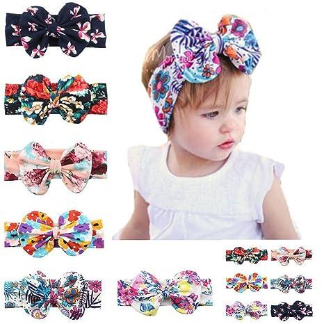 Newborn Headband Baby Headband Baby Bows Baby Hair Bows November Bow Pack Baby Girl Headband Girl Headband Bullet Fabric Hairbow,