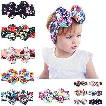 New Fashion Kids Headwear Headband 6 inches Baby Colorful Bow Tie Children