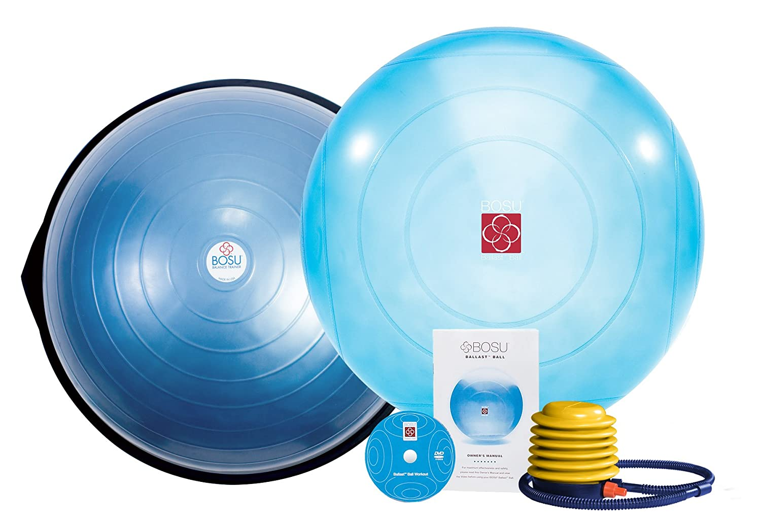 Bosu Balance Trainer and Ballast Ball Combo Kit by Ball, Bounce and Sport, Inc.