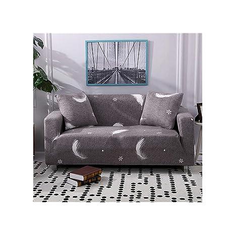 juyyzs sofa cover Funda de sofá elástica con Estampado ...