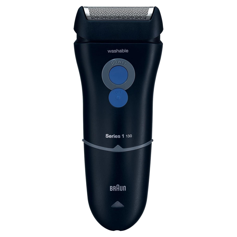 Braun Series 1 130 S-1 - Afeitadora eléctrica para hombre, máquina de afeitar barba, azul oscuro Procter & Gamble Series 1 130S-1