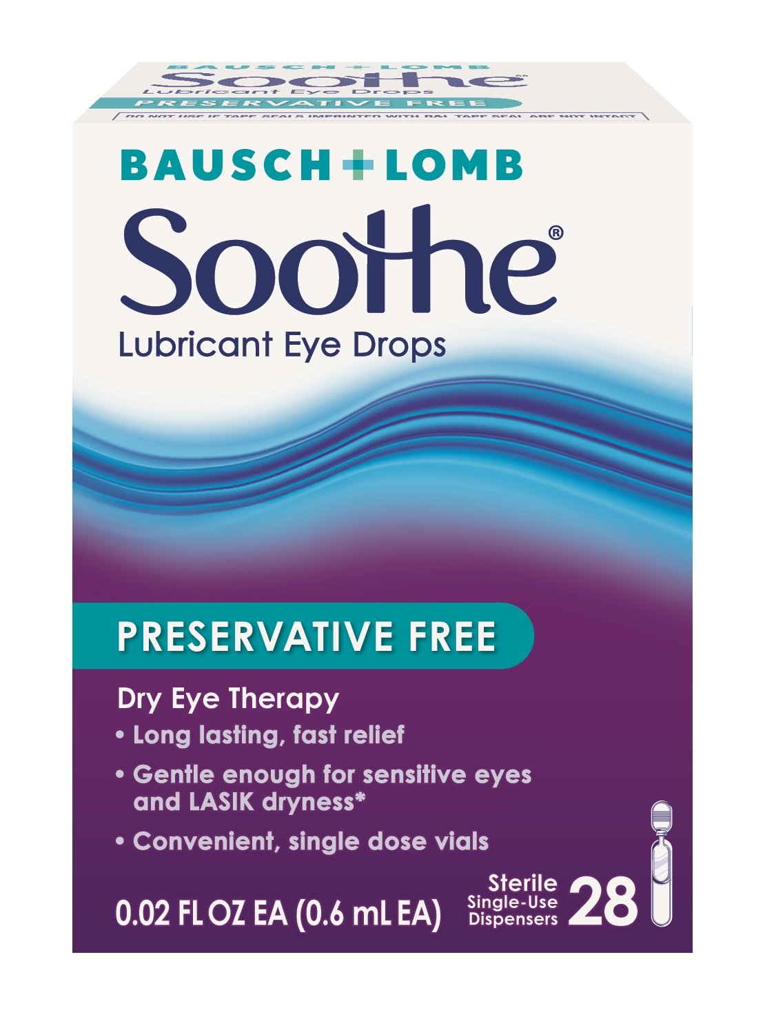 Amazon Com Bausch Lomb Soothe Lubricant Eye Ointment