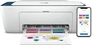 HP DeskJet 2732 Wireless All-in-One Compact Color Inkjet Printer - Instant Ink Ready, Indigo 5AR83A (Renewed)