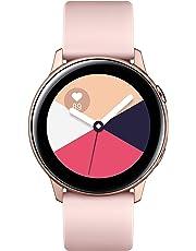 """Samsung Galaxy Watch Active reloj inteligente Rosa dorado SAMOLED 2.79 cm (1.1"""") GPS (satélite) - Relojes inteligentes (2.79 cm (1.1""""), SAMOLED, Pantalla táctil, GPS (satélite), 25 g, Rosa dorado)"""