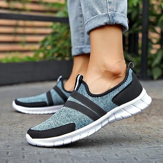 Running Zapato de mujer, BBestseller Aumento de los zapatos de malla zapatos casuales zapatos de plataforma de suela gruesa zapatos de mujer: Amazon.es: ...