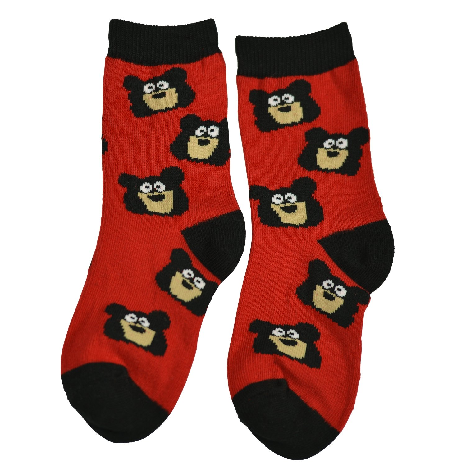Lazy One Unisex Bear Bum Kids Socks LazyOne KSK066