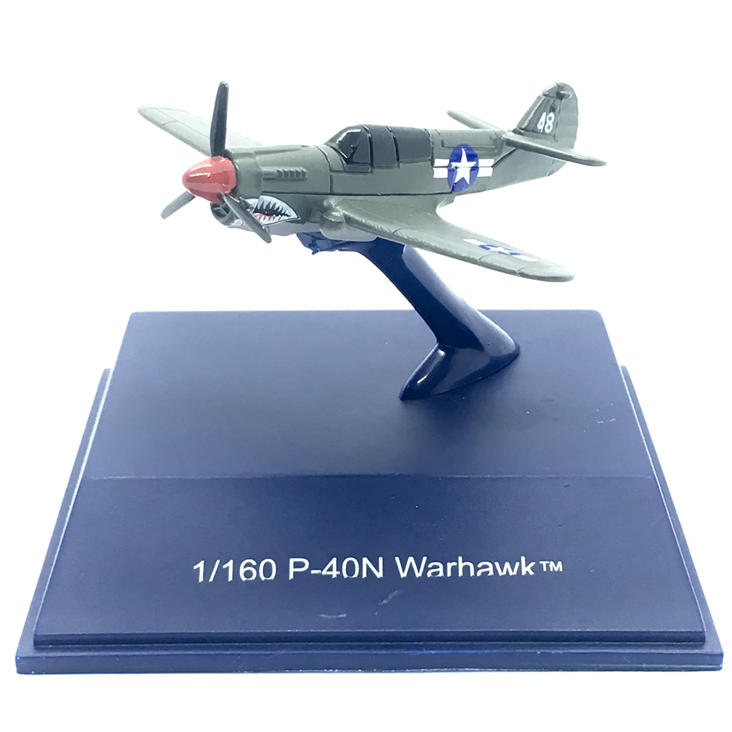 P-40N Warhawk Military Mission 1:160 Scale Die-Cast Metal Aircraft 2017 NewRay Toys Collection