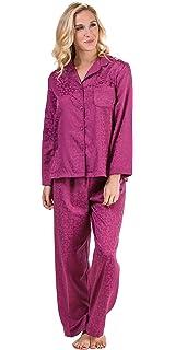 d93113425f Miss Elaine Women s Brushed Back Satin Pajama at Amazon Women s ...