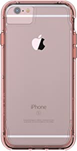 Griffin iPhone 7 Clear Protective Hard Shell Case, Survivor Clear, Clear/Rose Gold