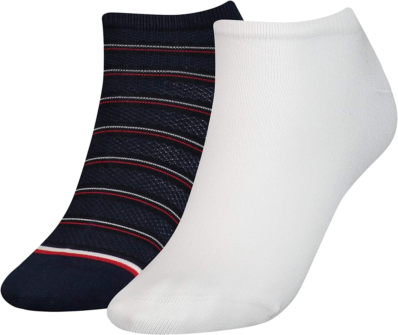 Tommy Hilfiger Th Women Sneaker 2p Preppy Calcetines, Azul (Midnight Blue 014), 35/38 (Pack de 2) para Mujer: Amazon.es: Ropa y accesorios