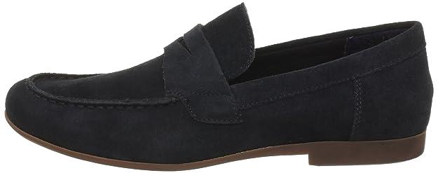 Calvin Klein Jeans - Mocasines de piel para hombre, Azul (Midnight), 40: Amazon.es: Zapatos y complementos
