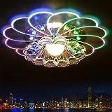 Nouvelle moderne coloré crystal 5W LED plafond lampe couloir salon balcon salle lumière du porche