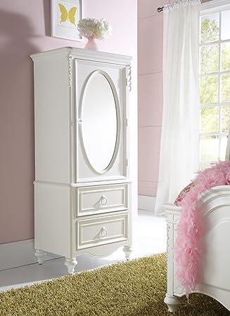 Amazon.com: Samuel Lawrence Furniture SweetHeart Door Wardrobe in ...