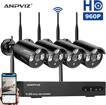 1080p 8CH NVR WIFI 720p HD IP Outdoor Wireless Security Camera System NO HDD BE