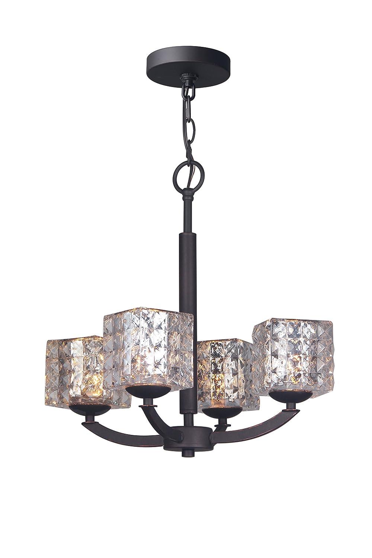 Amazon.com: Woodbridge Lighting 14314MEBLE-C80414 - Lámpara ...