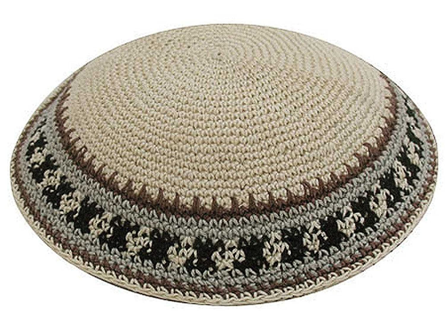 Amazon.com: Zion Judaica Knit Quality Kippot for Affairs or Everyday ...