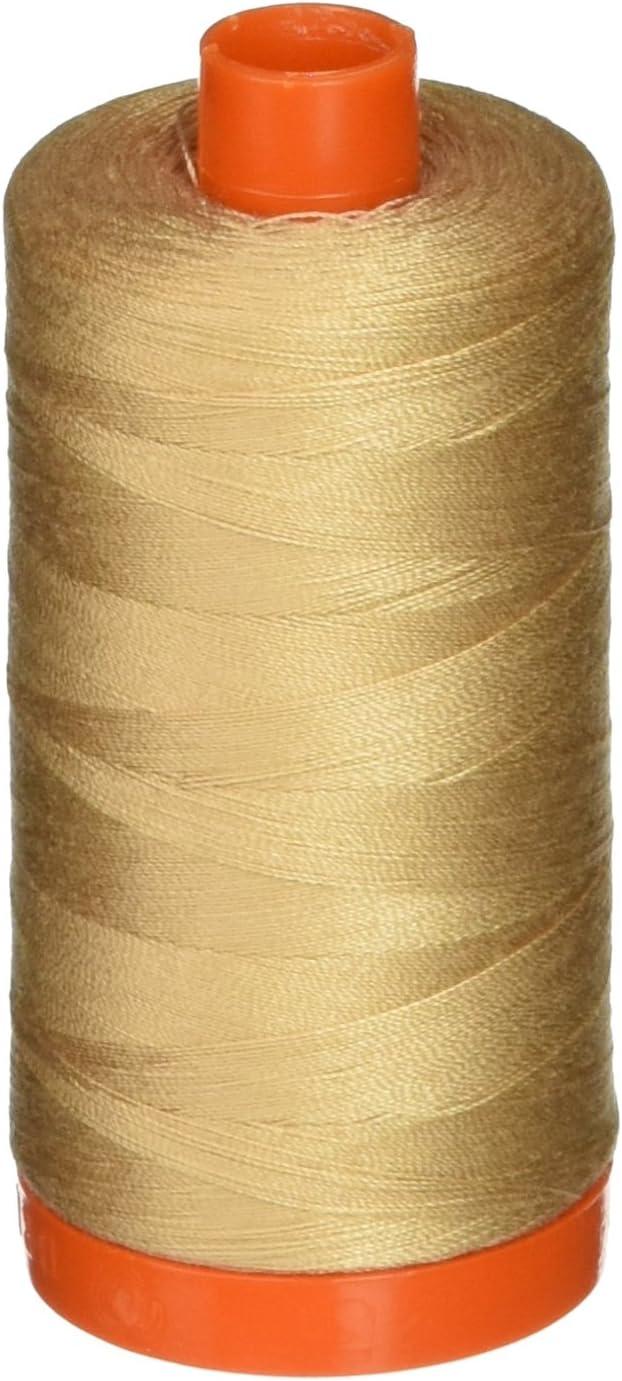 2310+2314 Beige Aurifil Cotton Mako 50wt Thread 2 Large Spools Light Beige