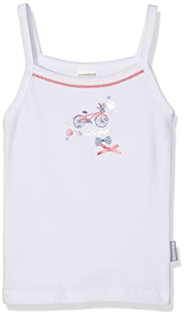 3bf76950fdc7a Absorba Underwear Top Deauville Maillot de Corps Fille Blanc (Blanc) 10 Ans  (Taille