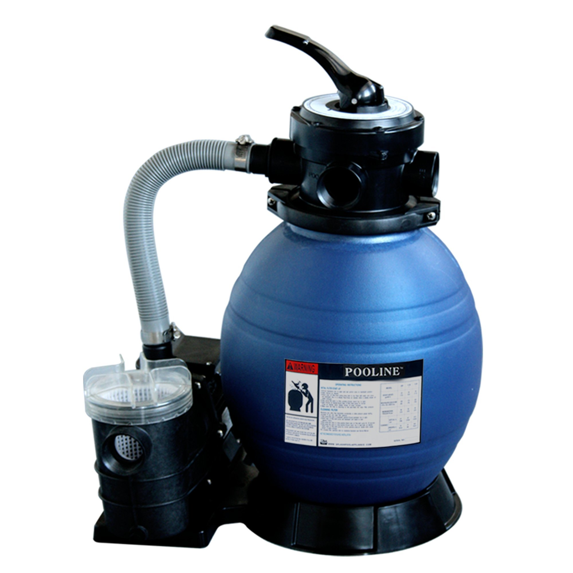 Pooline Products 11713 12'' Sand Filter with 0.25 HP Pump by Pooline