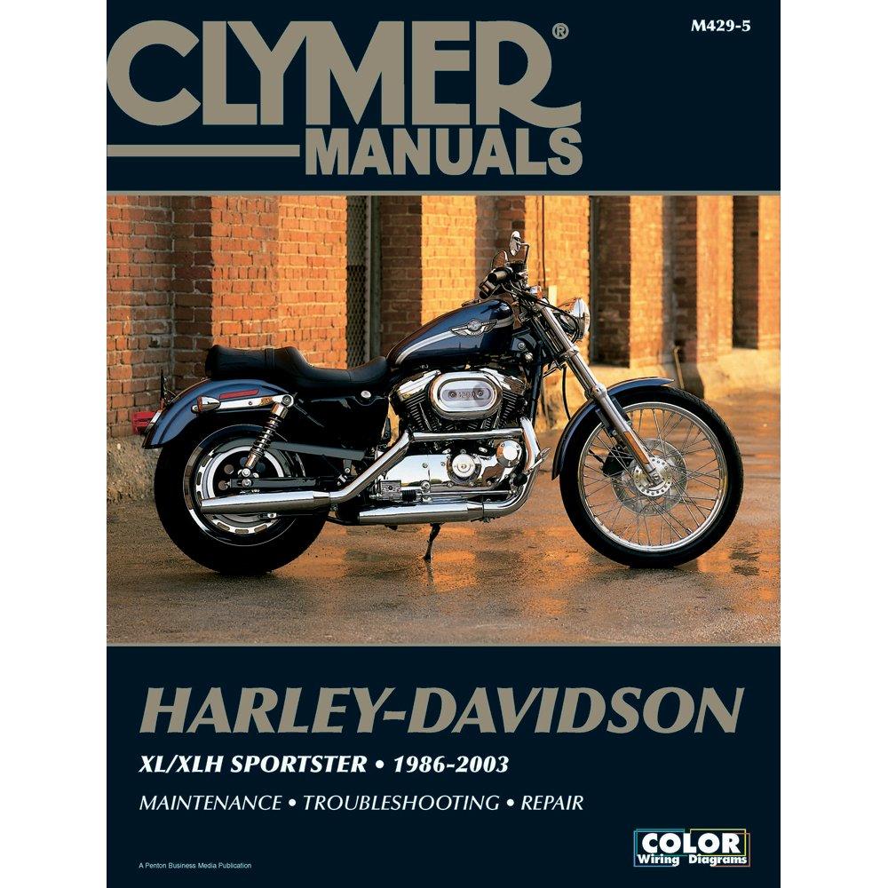 Amazon Clymer HarleyDavidson XLXLH Sportster 19862003 – Evolution Sportster Engine Diagram