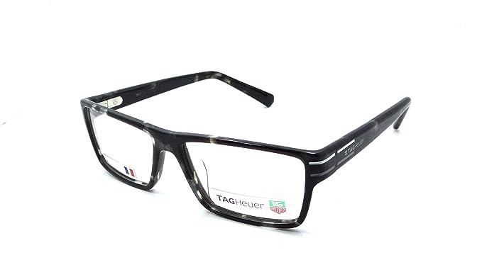 4d57a20d38 Tag Heuer Urban Phantomatik Rx Eyeglasses Frames Th 0531 002 55x16 Grey  Tortoise  Amazon.co.uk  Clothing