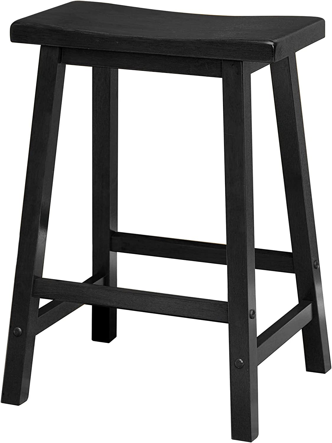 Hillsdale Furniture Krauss Stool, Bar, Gray Faux Leather