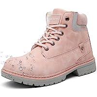 Botas de Nieve Hombre Mujer Cálido Botines Planas Invierno Impermeables Zapatos Senderismo Zapatillas Deportes Trekking…