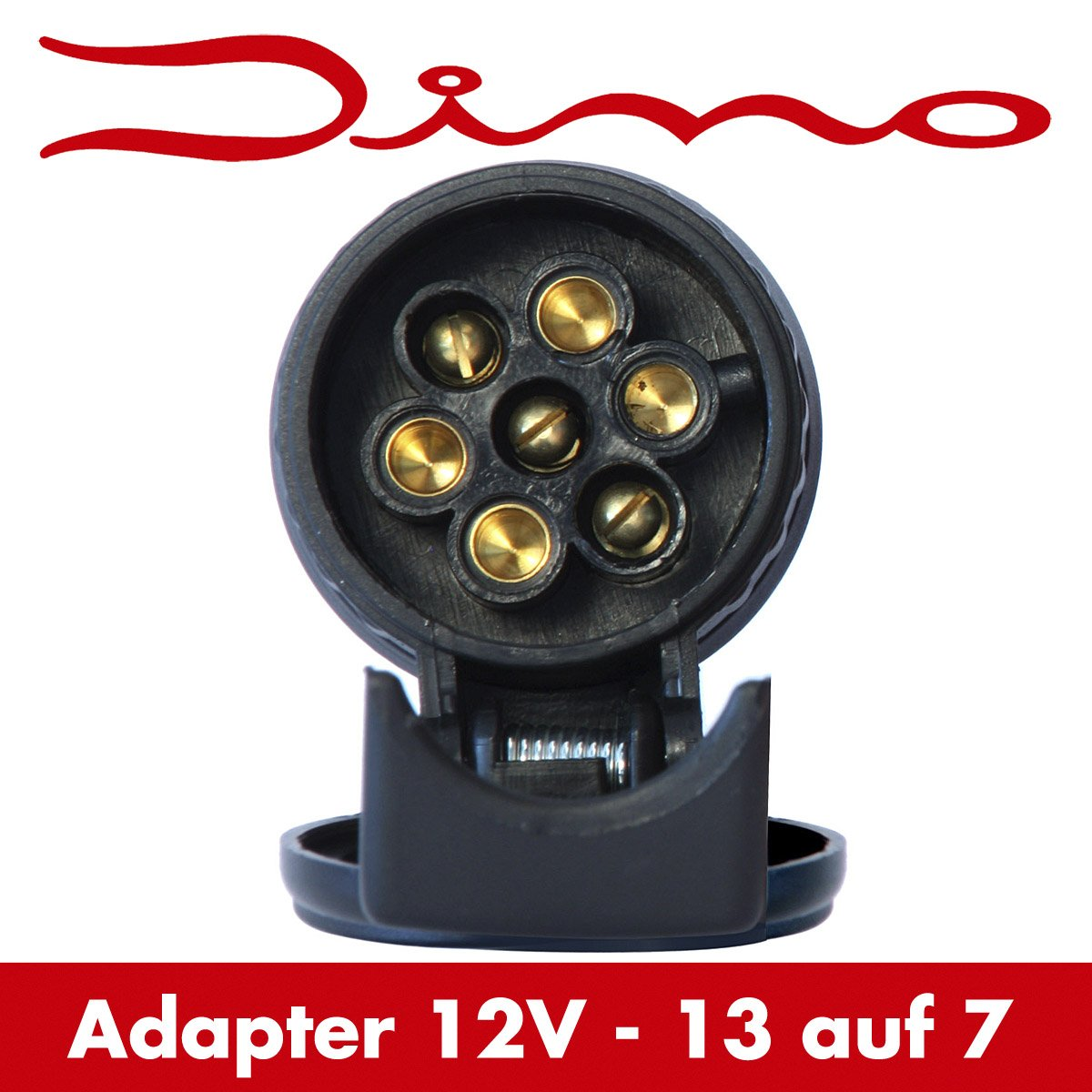 Dino 130007/Adaptateur court pour remorque 13/vers 7/broches