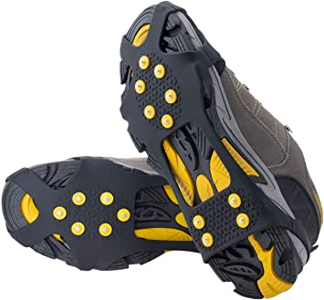 OuterStar Traction Cleats Ice Snow Grips Anti Slip Spikes Crampons
