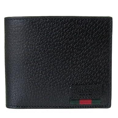 new style 9ca7f f0105 Amazon.co.jp: グッチ 二つ折り財布 メンズ 札入れ 小銭入れ ...
