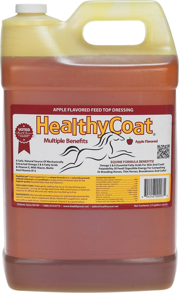 HealthyCoat 015HC-00063 Supplement Show Formula, 2.5 gallon