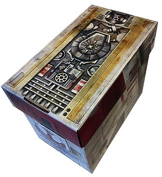 Cajas en acción - X-Wing Starship estilo Art corto Comic caja de almacenaje: Amazon.es: Oficina y papelería