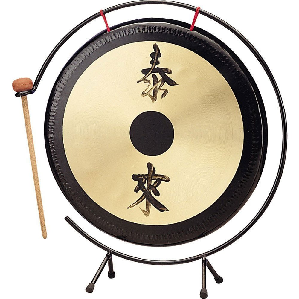 Percussion Workshop TFLGON-14 14 Table Top Gong with Stand and Beater